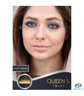 لنزطبی رنگی LIGHT GREEN SOLEKOMILANO کد NEL1024