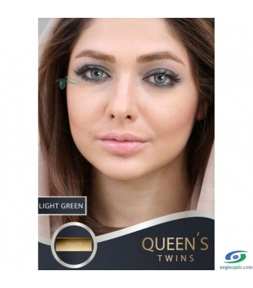 لنزطبی رنگی LIGHT GREEN SOLEKOMILANO