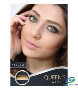 لنزطبی رنگی YELLOW SOLEKO MILANO