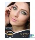 لنز طبی رنگی YELLOW SOLEKO MILANO