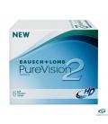 لنزطبی فصلی Pure Vision2 BAUSCH + LOMB کد NEL1024