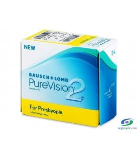 لنز طبی پیور ویژن2بوش اند لومب bausch+lombکد NEL1024