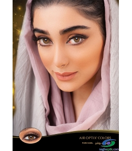 لنز رنگی فصلی AIR OPTIX COLORS Brown کد NEL1005