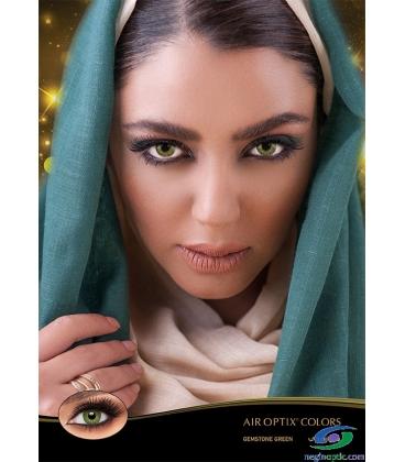 لنز رنگی فصلی Gemstone Green AIR OPTIX