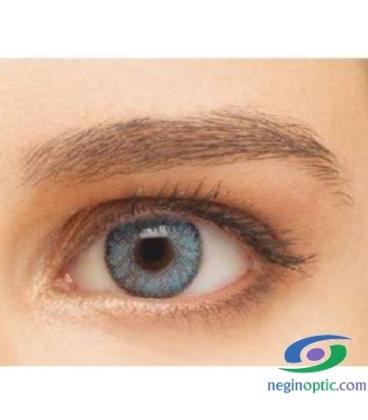 لنز طبی رنگی  BAUSCH+LOMB  رنگ  Indigo  کد  NEL1048