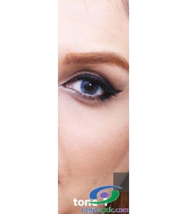 لنز طبی رنگی سالانه 1 Festival Morning Blue Tone کد NE1632