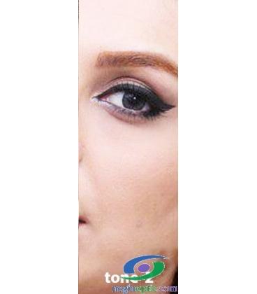 لنز طبی رنگی سالانه Festival Morning Gray Tone2 کد NE1630