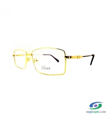 عینک طبی مردانه سیلور Silver مدل 527