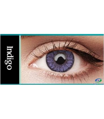 لنز طبی رنگی BAUSCH+LOMB رنگ Indigo