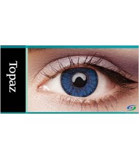 لنز طبی رنگی BAUSCH+LOMB رنگ Topaz
