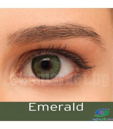 لنز رنگی BAUSCH+LOMB رنگ Emerald