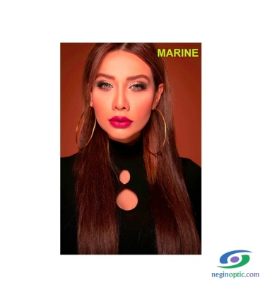 لنز رنگی سالیانه پلی ویو PolyVue رنگ Marine 3T