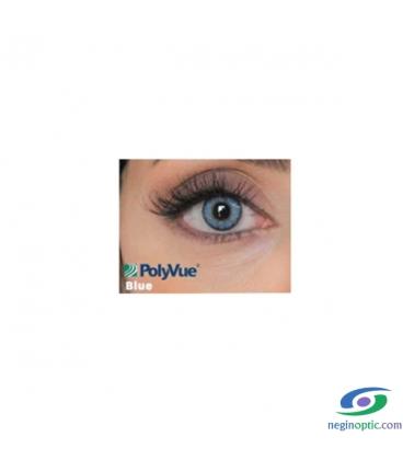 لنز رنگی سالیانه پلی ویو PolyVue رنگ Blue 3T