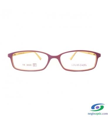 عینک طبی زنانه کره ای Louis cazel مدل 3033