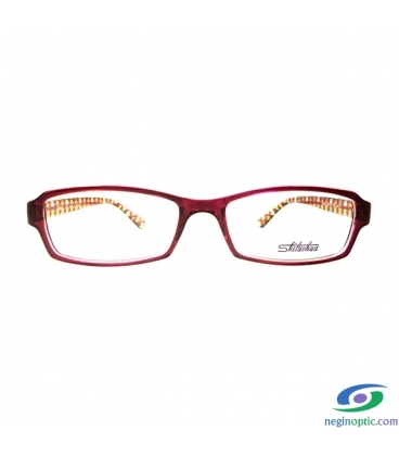 عینک طبی زنانه کره ای Shiluohua مدل 1488