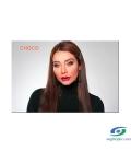لنز طبی رنگی سالیانه پلی ویو PolyVue رنگ Choco 3T
