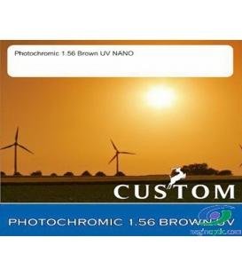 عدسی CUSTOM 1.56 PHOTOCHROMIC BROWN