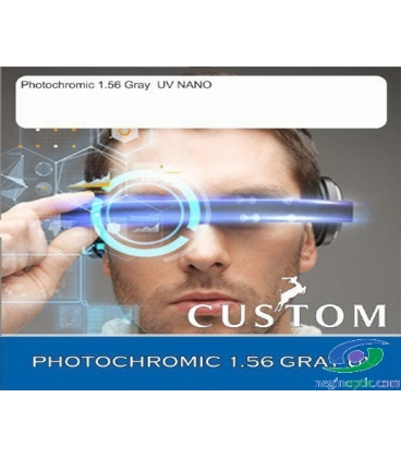 عدسی CUSTOM 1.56 PHOTOCHROMIC GREY
