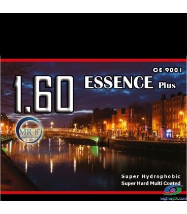 عدسی Essence 1.60 Clear SuperHydroPhobic