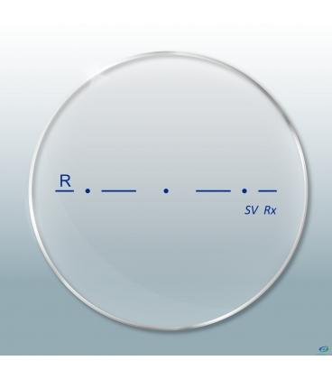 عدسی Single Vision 1.67 Clear HMC First