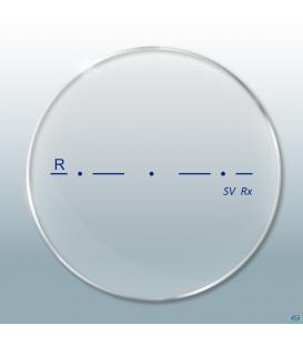 عدسی Essence Single Vision 1.67 Clear HMC 3D Master