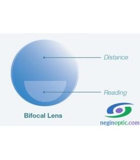 عدسی Essence Bifocal 1.56 Photochromic Flat Top Gray