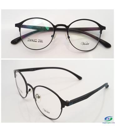 عینک طبی گرد VIOLET کد NE1126