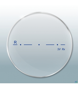 عدسی Revo Single Vision 1.56 Photochromic Standard Brown