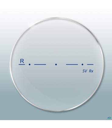 عدسی Revo Single Vision 1.67 Photochromic Standard Gray