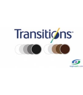 عدسی ایندو Indo 1.50 Single Vision Transition Unimax Sport Gray
