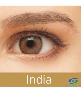 لنز طبی رنگی  BAUSCH+LOMB  رنگ India کد  NEL1044