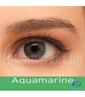 لنز طبی رنگی BAUSCH+LOMB رنگ Aquamarine کد NEL1040