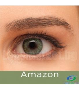 لنز طبی رنگی BAUSCH+LOMB رنگ Amazon کد NEL1042