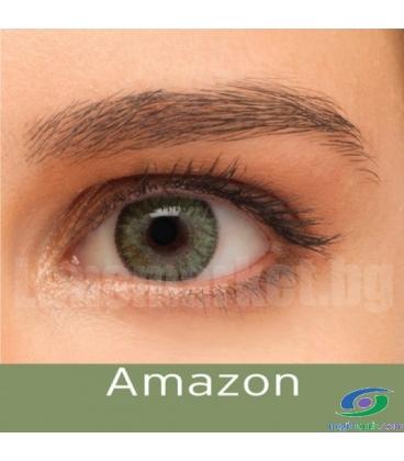 لنز طبی رنگی BAUSCH+LOMB رنگ Amazon