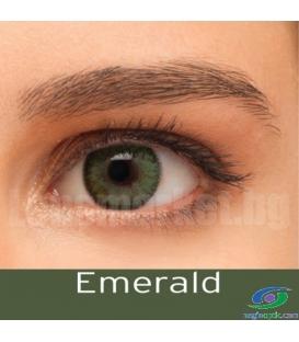 لنز طبی رنگی BAUSCH+LOMB رنگ Emerald کد NEL1043