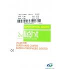 عدسی   de light  1.56   Green  Super  Hard   کد   NE1690