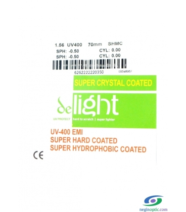 عدسی de light 1.56 Green Super Hard