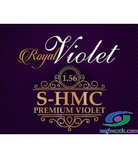 عدسی 1.56 پوشش  آنتی رفلکس  بنفش  Royal Violet