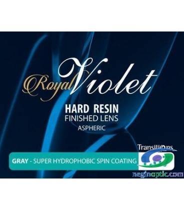 عدسی 1.67 فتوکرومیک ترانزیشن آسفریک Royal Violet