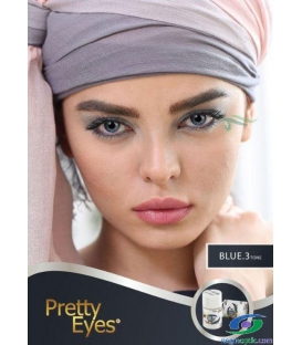 لنزطبی رنگی BLUE3tone Pretty Eyes