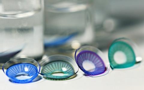 انواع لنزهای تماسی رنگی