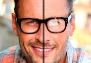 عدسی آنتی رفلکس عینک طبی