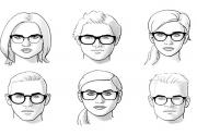 انتخاب بهترین عینک متناسب با فرم صورت